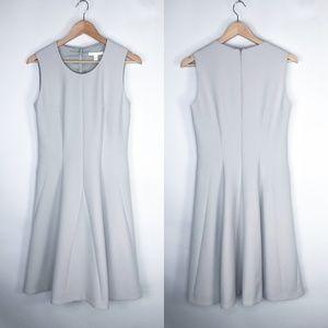 Hugo Boss Fit Flare Beige Sleeveless Dress Size 6